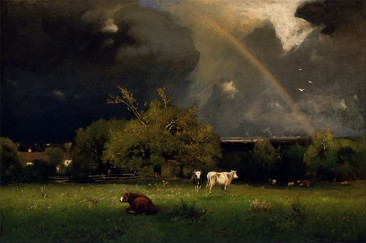 GEORGE INNESS – THE FATHER OF LANDSCAPE PAINTINGS AND EXPONENT OF TONALISM AND BARBIZON STYLE