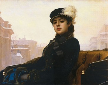 IVAN NIKOLAYEVICH KRAMSKOY (KRAMSKOI), ONE OF THE BEST PORTRAIT ARTISTS IN 19TH CENTURY RUSSIA