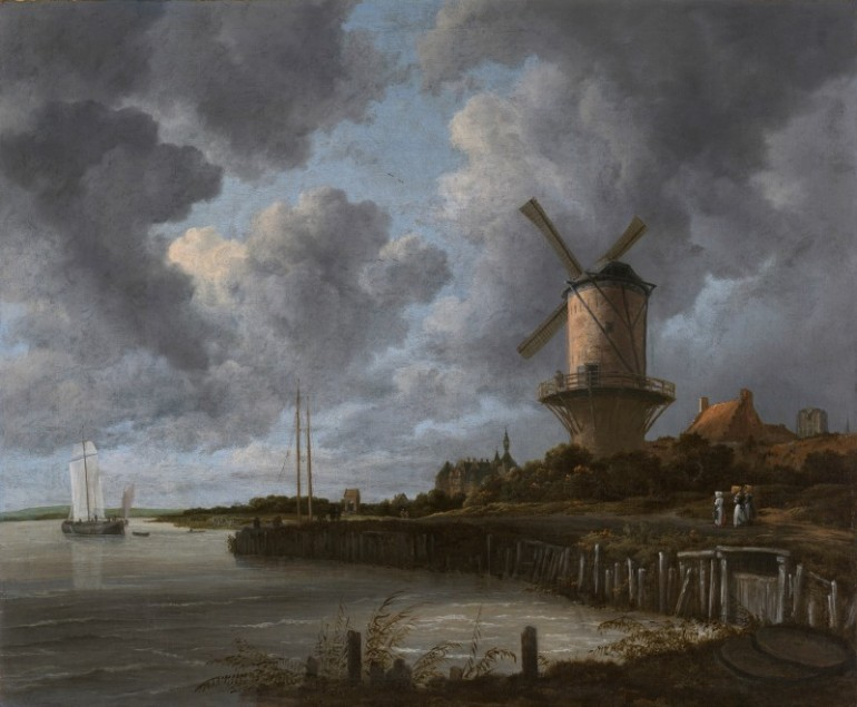 JACOB VAN RUISDAEL, THE GREATEST LANDSCAPE PAINTER DURING THE DUTCH BAROQUE ART ERA