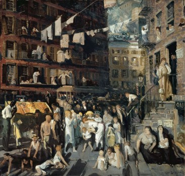 THE GRITTY VIEWS OF URBAN LIFE IN NEW YORK CITY THROUGH THE EYES OF GEORGE BELLOWS, AMERICAN REALIST PAINTER