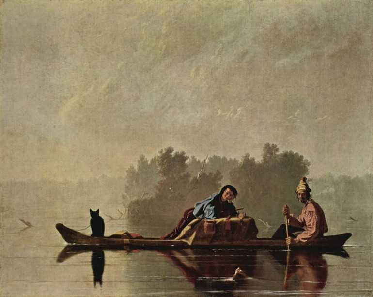 MISSOURI FRONTIER LIFE AS DEPICTED BY GEORGE CALEB BINGHAM, AMERICAN REALIST PAINTER