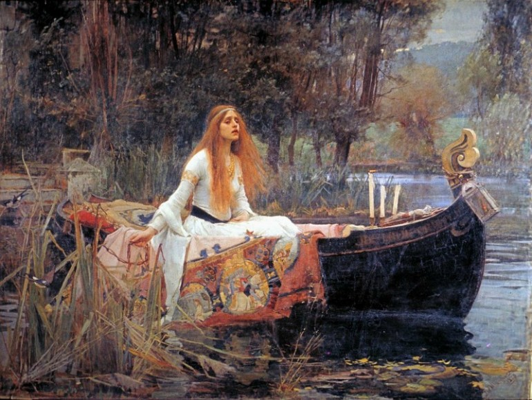 JOHN WILLIAM WATERHOUSE, ROMANTIC FIGURATIVE PAINTER IN THE PRE-RAPHAELITE TRADITION