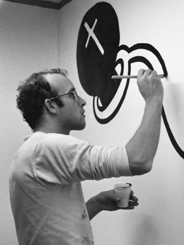 KEITH HARRING, THE REBEL WHO PAINTED THE STREETS OF NEW YORK CITY
