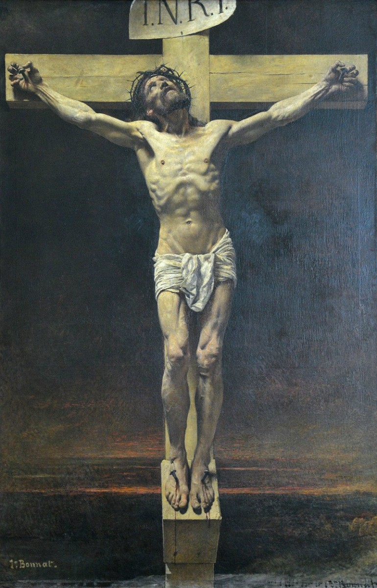 LÉON BONNAT, INNOVATIVE 18TH CENTURY FRENCH ARTIST WHO PRODUCED POWERFUL RELIGIOUS PAINTINGS