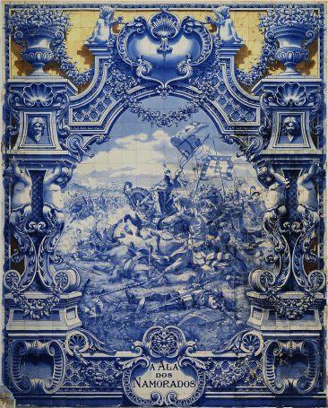 HISTORY AS DEPICTED IN THE BEAUTIFUL AZULEJOS OF PORTUGAL