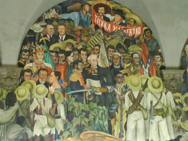 DIEGO RIVERA, FAMOUS MEXICAN ARTIST WHO CONTRIBUTED SIGNIFICANTLY TO MEXICAN MURAL MOVEMENT
