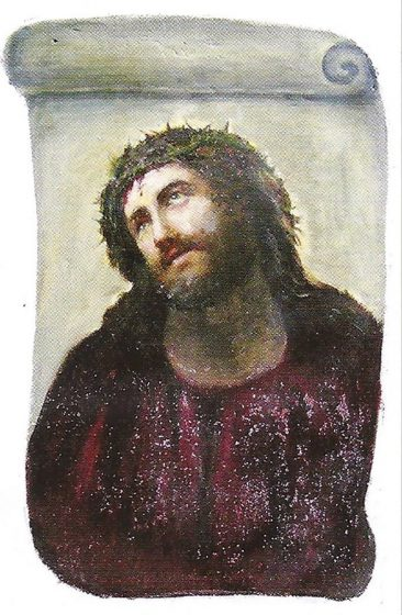 Ecce Homo: The Curious Case of the Botched Fresco of Jesus Saved the Town of Borja