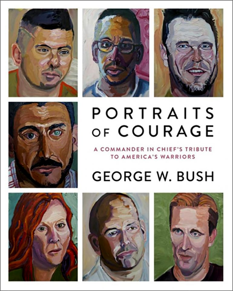 Despite Questions on His Painting Skills, Former President Bush's New Book of Paintings is a Huge Hit