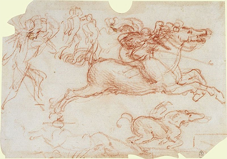 A Study for the Battle of Anghiari