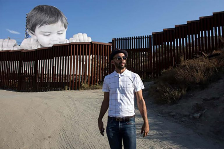 JR's Newest Work Unveiled at The Mexican Border