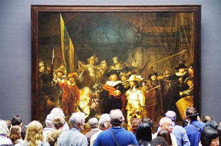The Nightwatch at Rijksmuseum