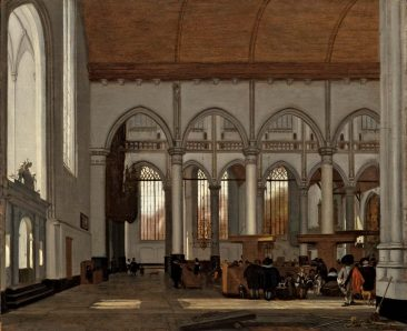 EMANUEL DE WITTE: DUTCH MASTER OF CHURCH INTERIOR ART