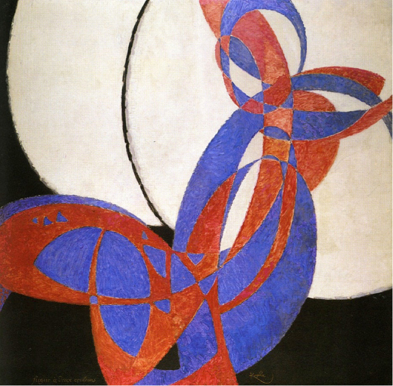 František_Kupka,_1912,_Amorpha,_fugue_en_deux_couleurs_(Fugue_in_Two_Colors),_210_x_200_cm,_Narodni_Galerie,_Prague