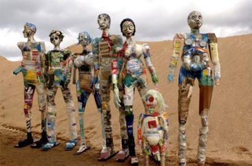 Art from Scrap: An environmentalist way of art