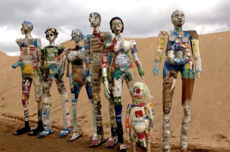 Art from Scrap: An environmentalist way of art
