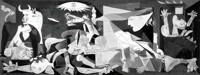 The 7 Hidden Symbols in Picasso's Guernica