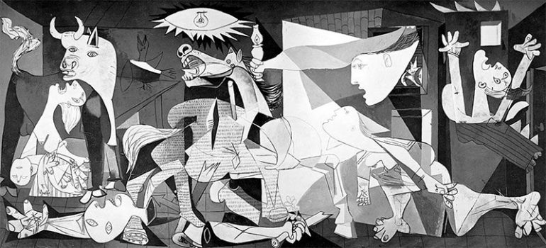 Other Hidden Symbols Hidden in Guernica by Picasso