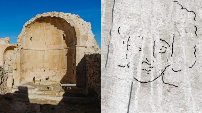 Archaeologists Allegedly Found Old Byzantine Mural of Jesus Christ