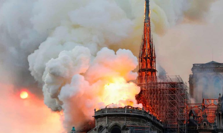 The Notre-Dame Cathedral Fire