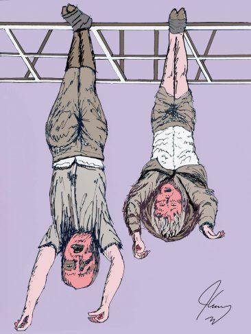 Jim Carrey vs Alessandra Mussolini: A Feud With Art