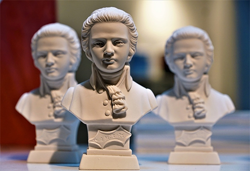 Mozart Sculpture Art