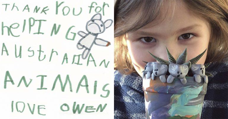 Art and Charity: Kid Raises $240,000 Creating Cute Clay Koalas
