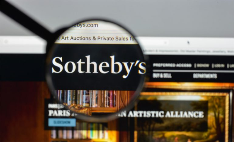 Sotheby's Recent Auction Online Hits All-Time High Despite Worldwide Pandemic