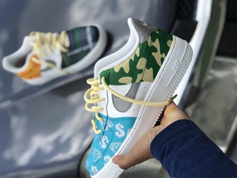 Sneaker Customization is an Emerging Art Expression